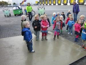 Foto: Een kijkje in de vrachtwagen - Eijgenhuijsen