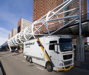 Foto: vrachtwagen Eijgenhuijsen Precisievervoer