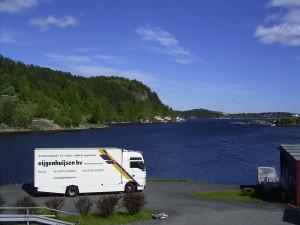 Foto vrachtwagen Eijgenhuijsen precisievervoer