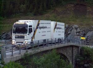 Foto vrachtwagen Eijgenhuijsen Trondheim