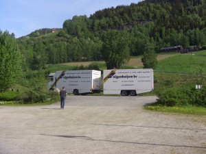 Foto: vrachtwagen Eijgenhuijsen Noorwegen
